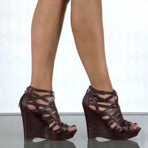 True Religion Sage Caged Sandals